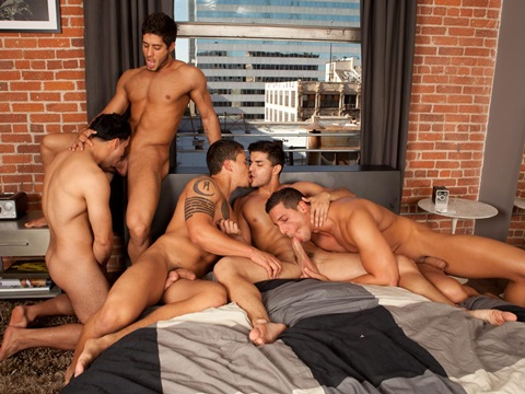 5 Guys 1 Bed Part1