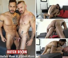 Vídeo Gay Download – Sexo Gay Bareback em Dose Dupla: Stefan Raw & Viktor Rom – Markie More & Quentin