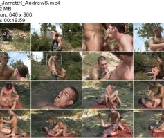 Vídeo Gay Download – Sexo Gay Bareback em Dose Dupla: Brett & Colt – Miles & Brayden