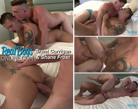 Brent corrigan and shane frost