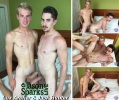 Vídeo Gay Download – Sexo Gay Bareback em Dose Dupla: Bjorn Manning & Scott De Marco – Lux Archer & Jack Hunter