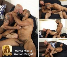 Vídeo Gay Download – Sexo Gay em Dose Dupla: Marco Rios & Roman Wright – Bronson Gates & Roman Wright