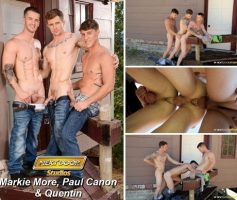 Next Door Buddies – The Reunion – Playful Boyfriends: Markie More, Paul Canon & Quentin Gainz – Online