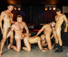 Men – Suruba Gay: Abraham Al Malek, Damien Crosse, Dominique Hansson, Jimmy Fanz & Pierre Fitch