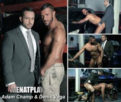 Vídeo Gay Online – Sexo Gay: Adam Champ & Denis Vega