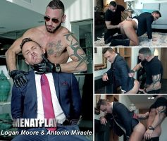 Vídeo Gay Online – Sexo Gay: Logan Moore & Antonio Miracle