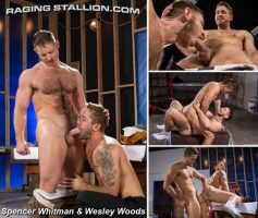 Vídeo Gay Download – Sexo Gay em Dose Dupla: Spencer Whitman & Wesley Woods – Fabio Acconi & Johnny V