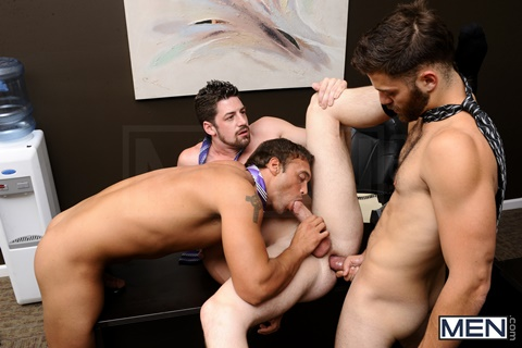 Andrew Stark, Rocco Reed & Tommy Defendi