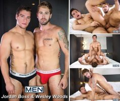 Vídeo Gay Download – Sexo Gay em Dose Dupla:  Jordan Boss & Wesley Woods – Alex Mecum & Black Panther