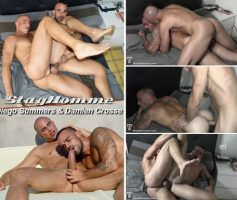 Vídeo Gay Download – Sexo Gay Bareback em Dose Dupla: Devin Franco's Bareback Gang Bang – Diego Summers & Damien Crosse