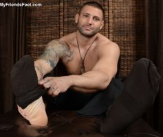 My Friends Feet – Macho Gostoso: Podolatria com Mike Buffalari