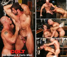 Vídeo Gay Online – Sexo Gay: Zak Spears & Carlo Masi