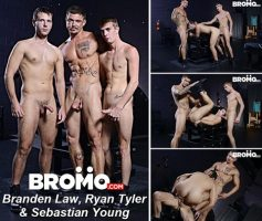 Vídeo Gay Download – Sexo Gay Bareback em Dose Dupla: Brendan Patrick, Ken & Max London – Sebastian Young, Branden Law & Ryan Tyler