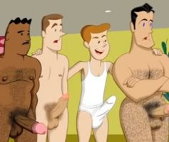 Vídeo Cartoon Gay – Gay Cartoon: The Poker Game