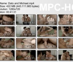 Vídeo Gay Download – Sexo Gay Bareback: Michael Lucas & Dato Foland