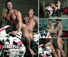 Vídeo Gay Online – Sexo Gay: Flex Xtremmo & Axel Brooks