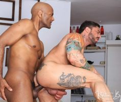 Kristen Bjorn – Sexo Gay Bareback: Robin Sanchez & William Bravo