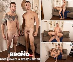 Vídeo Gay Online – Sexo Gay Bareback: Brad Powers & Brady Bennett