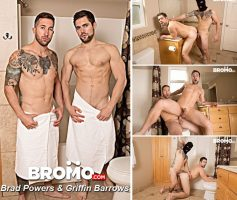 Vídeo Gay Online – Sexo Gay Bareback: Griffin Barrows & Brad Powers