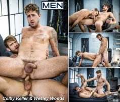 Vídeo Gay Online – Men.com: Colby Keller & Wesley Woods