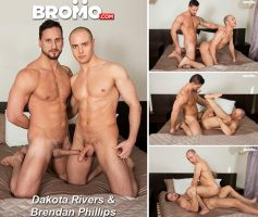 Vídeo Gay Download – Sexo Gay Bareback: Dakota Rivers & Brendan Phillips
