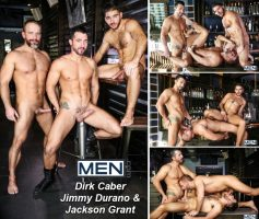 Vídeo Gay Download – Sexo Gay: Dirk Caber, Jimmy Durano & Jackson Grant