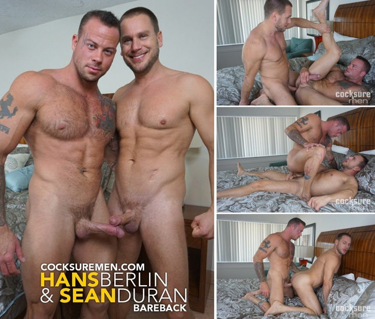 CockSureMen: Hans Berlin and Sean Duran