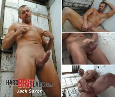 Vídeo Gay Download – Macho Gostoso: Punheta com Jack Saxon