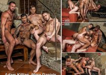 Vídeo Gay Online – Sexo Gay Bareback: Adam Killian, Marq Daniels, Michael Roman & Brian Bonds
