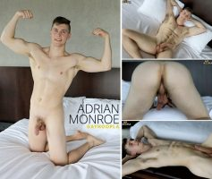 Vídeo Gay Download – Gato Gostoso: Punheta com Adrian Monroe
