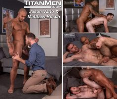 Vídeo Gay Online – Sexo Gay: Jason Vario & Matthew Bosch