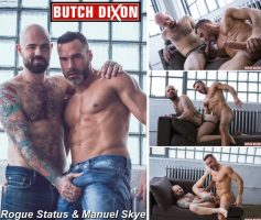 Vídeo Gay Online – Sexo Gay: Rogue Status & Manuel Skye