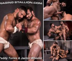 Vídeo Gay Online – Sexo Gay: Teddy Torres & Jaxton Wheeler