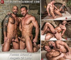 Vídeo Gay Download – Sexo Gay Bareback: Tomas Brand & Angelo Di Luca