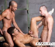 Vídeo Gay Online – Sexo Gay: Edward Fox, Bruno Lopez & Max Schutler