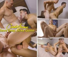 Vídeo Gay Online – Sexo Gay Bareback: Dave Deep Dicks Quinn