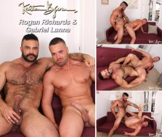 Vídeo Gay Online – Sexo Gay Bareback: Rogan Richards & Gabriel Lunna