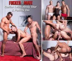 Vídeo Gay Download – Sexo Gay Bareback: Carlos Leão, Andy Star & Patrick Dei