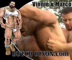 Vídeo Gay Online – Sexo Gay: Vinnie D'Angelo & Marco de Brute