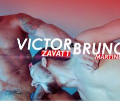 Vídeo Gay Online – Sexo Gay Bareback: Victor Zavatt & Bruno Martines (Hot Boys)