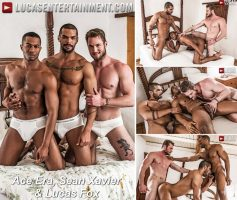 Vídeo Gay Online – Lucas Entertainment: Ace Era, Sean Xavier & Lucas Fox