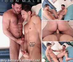 Vídeo Gay Download – Icon Male: Billy Santoro & Roman Todd