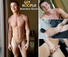 Vídeo Gay Download – Gayhoopla: Punheta com Brandon Stone