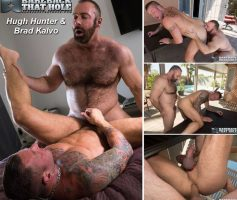 Vídeo Gay Online – Bareback That Hole: Hugh Hunter & Brad Kalvo