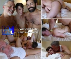 Vídeo Gay Online – MaverickMen: Two Guys One Teen Bareback