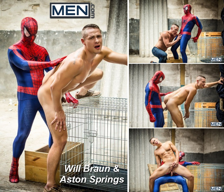 Men.com: Will Braun & Aston Springs