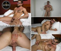 Vídeo Gay Download – The Guy Site: Punheta com Jay Austin Up Close