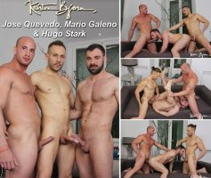 Vídeo Gay Download – Kristen Bjorn: Jose Quevedo, Mario Galeno & Hugo Stark