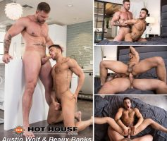 Vídeo Gay Online – Hot House: Austin Wolf & Beaux Banks