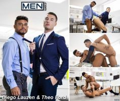Vídeo Gay Online – Men.com: Diego Lauzen & Theo Ford